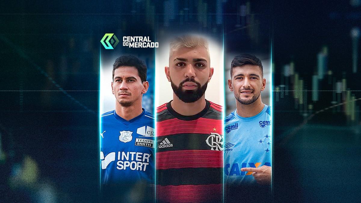9263534cff Fim das novelas  Flamengo acerta contratações de Gabigol e Arrascaeta   resumão da Central