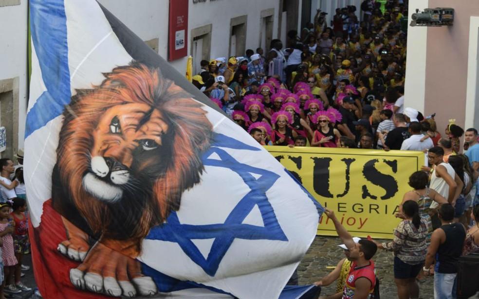 Carnaval de Salvador terá bloco evangélico no Pelourinho pelo 9º ano seguido (Foto: Divulgação)