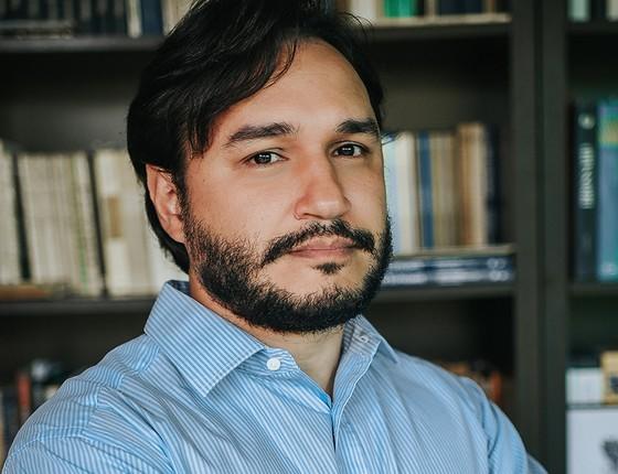O jornalista Felipe Recondo, autor de Tanques e togas: o STF e a ditadura militar  (Foto: Alexia Fidalgo/Divulgação)