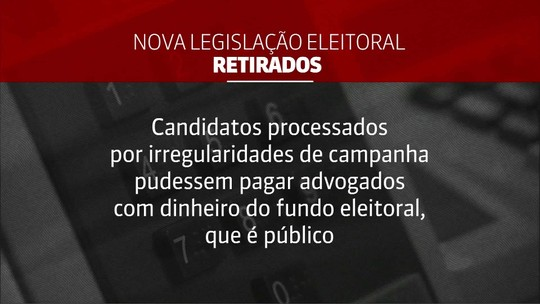 Projeto com novas regras eleitorais segue para a sanção de Bolsonaro