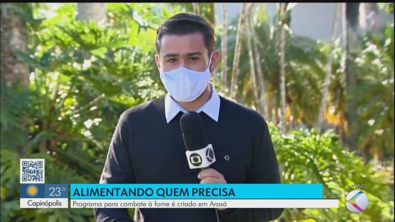 Programa de combate à fome é criado em Araxá para auxiliar famílias durante a pandemia