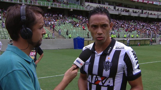 """""""Infelizmente não conseguimos concluir a gol"""", diz Ricardo Oliveira após derrota do Galo"""
