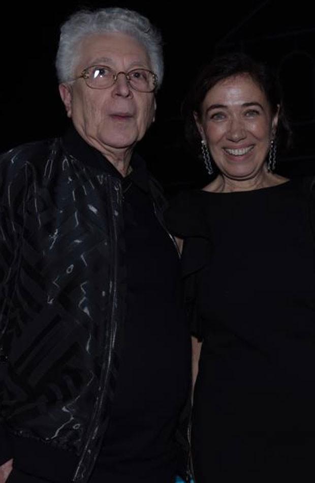 O autor Aguinaldo Silva e a atriz Lília Cabral (Foto: Selmy Yassuda)