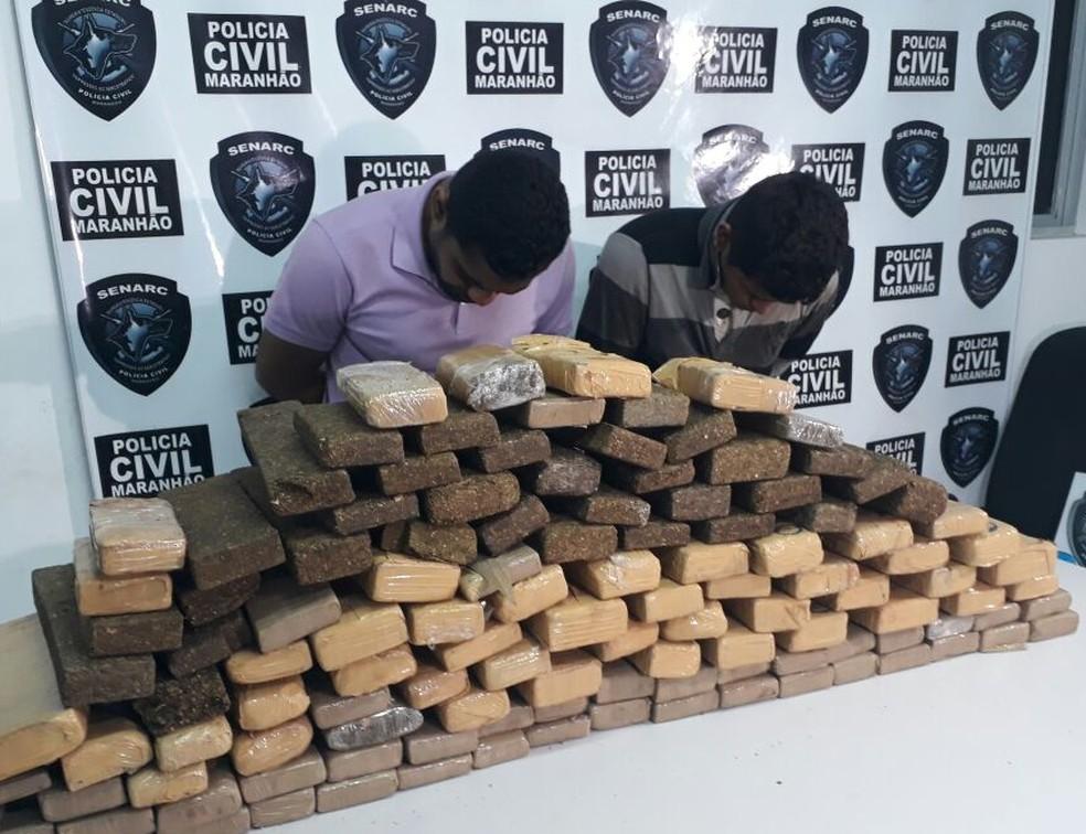 Jarbas Gomes de Moraes e Ivonaldo França Ribeiro são acusados de tráfico de drogas. (Foto: João Ricardo/Mirante AM)