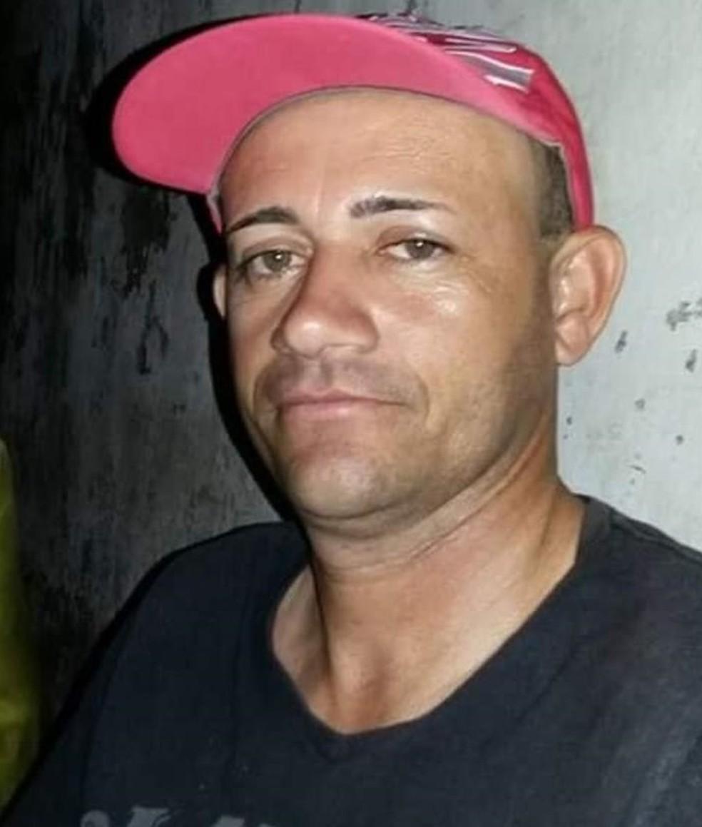 Etevaldo de Jesus Reis é suspeito de ter matado a companheira Alcineide, no barro Bom Jesus, em São Luís — Foto: Arquivo pessoal