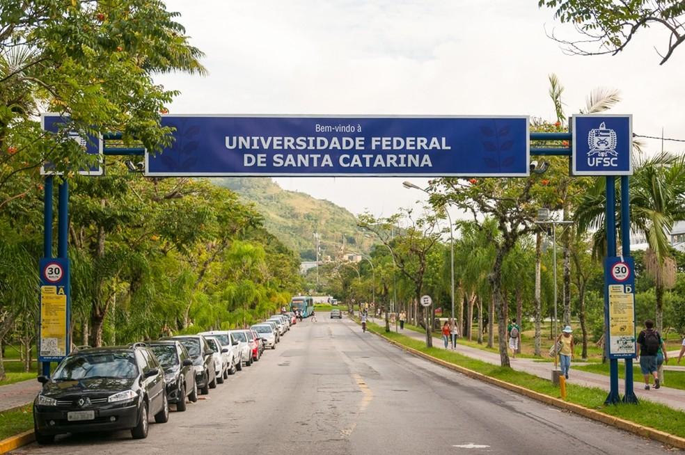 UFSC (Universidade Federal de Santa Catarina) — Foto: Henrique Almeida