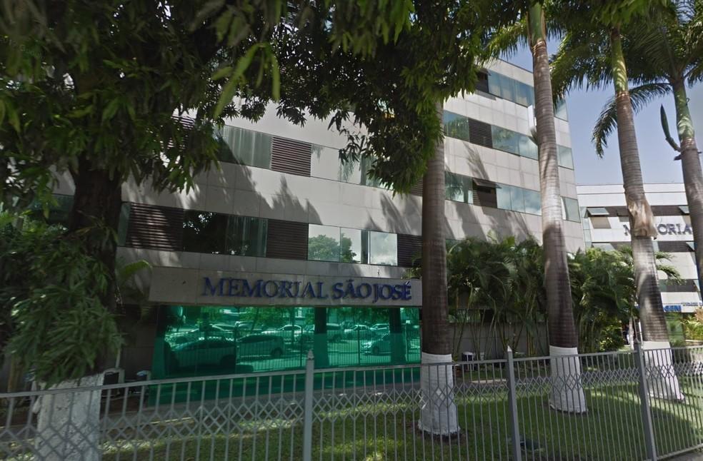 Hospital Memorial São José fica no centro do Recife (Foto: Reprodução/Google Street View)