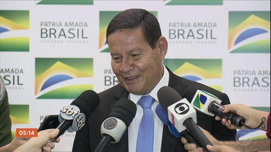 """""""Daqui a pouco, um ministro qualquer dá um habeas corpus pra ele"""", diz Mourão sobre Temer"""