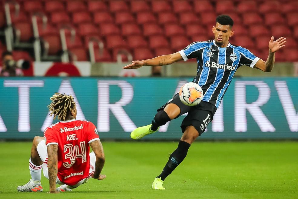 Grêmio pode acabar ajudando o rival Inter se vencer o Flamengo — Foto: Staff Images/Conmebol
