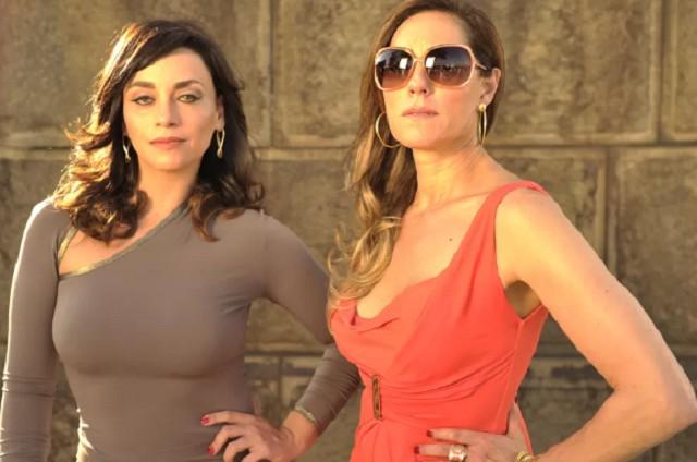 Suzana Pires e Christiane Torloni: Marcela e Tereza Cristina em 'Fina estampa' (Foto: Renato Rocha Miranda/ TV Globo)