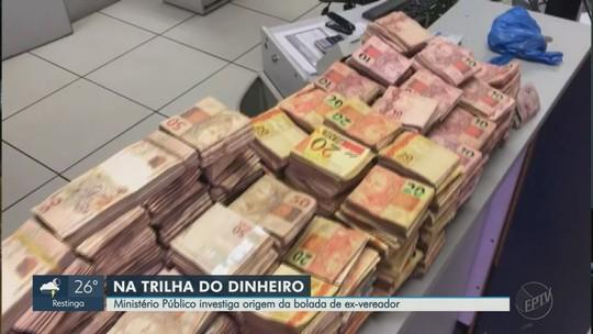 Ex-vereador suspeito de enterrar R$ 1,5 milhão já ocultou R$ 900 mil dentro de casa em SP, diz MP