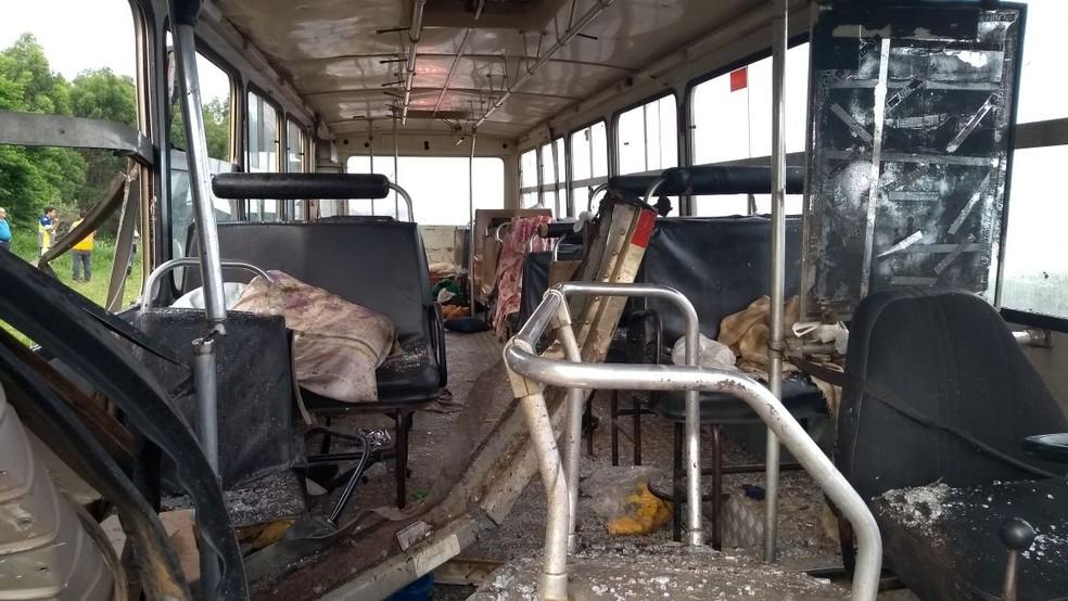 Ainda não há informações sobre o número de feridos (Foto: César Evaristo/Arquivo pessoal)