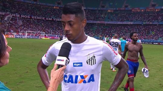 """Vídeo: """"Desestruturou nosso time"""", diz Bruno Henrique, sobre gol sofrido em contra-ataque"""