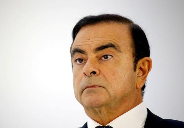 Carlos Ghosn, ex-presidente da Nissan Motors, está preso desde novembro (Foto: REUTERS/Regis Duvignau)