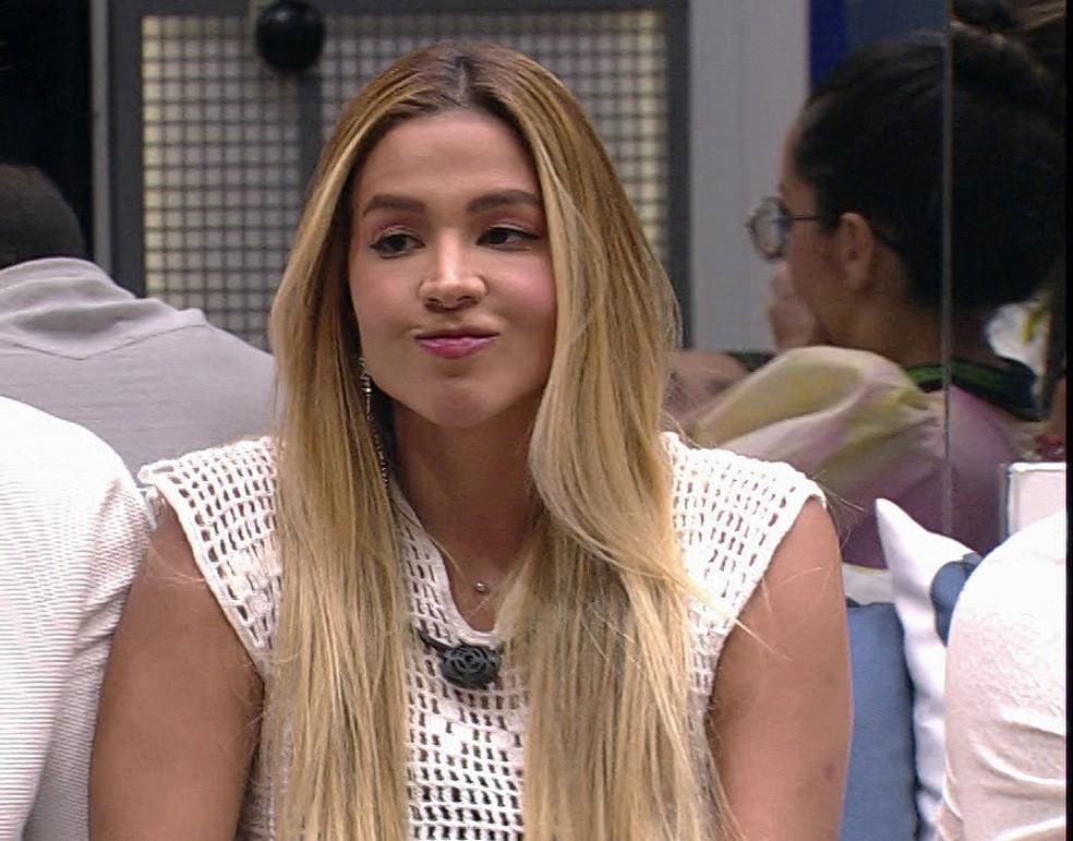 Kerline é a primeira eliminada do BBB21 — Foto: Globo