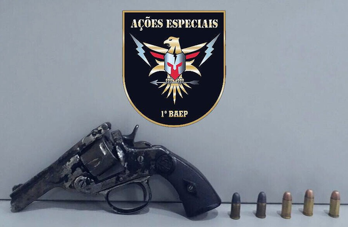 PM de Campinas prende suspeito de tentativa de roubo e sequestro relâmpago; revólver é apreendido