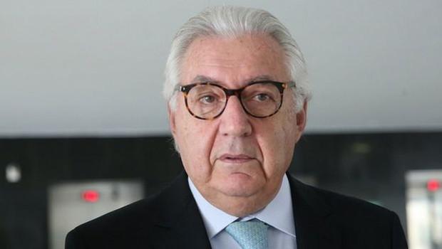 No fim dos anos de governo Sarney, Guedes passou a atuar na coordenação do plano econômico do candidato à Presidência Guilherme Afif Domingos (foto) (Foto: ANTONIO CRUZ/AGÊNCIA BRASIL via BBC News Brasil)