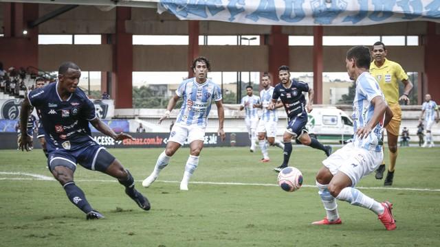 Paysandu saiu na frente e Remo foi atrás do empate