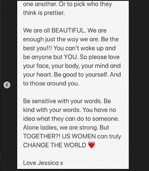 O desabafo da cantora inglesa Jessie J em relação às comparações constantes entre ela e a dançarina Jenna Dewan, ex-esposa do ator Channing Tatum (Foto: Instagram)