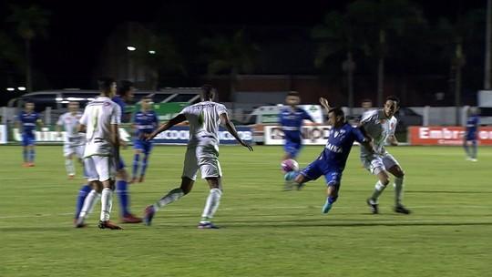 Os principais lances do empate sem gols do Cruzeiro