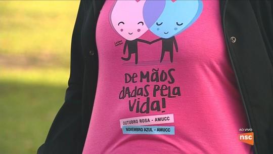 Sul e Serra de SC têm programação dedicada ao Outubro Rosa