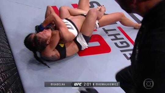 Cláudia Gadelha dá show e finaliza Karolina Kowalkiewicz no UFC Rio 8