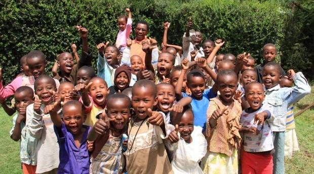A Mully Children's Family é a maior organização de reabilitação de crianças da África (Foto: Divulgação)