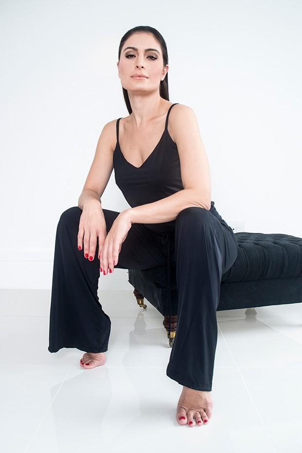 Franciely Freduzeski (Foto: Márcio Carvalho)