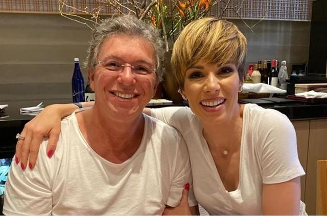 Boninho e Ana Furtado farão 25 anos de casamento em 2021 (Foto: Reprodução)