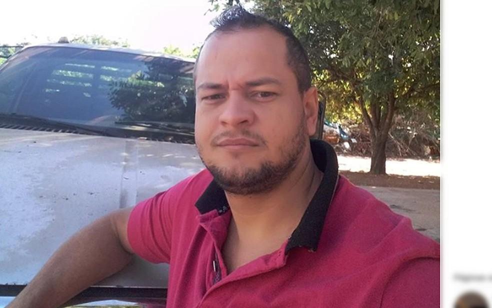 Izaquiel Tomaz do Amaral, de 33 anos, foi assassinado em Rondonópolis (Foto: Facebook/Reprodução)