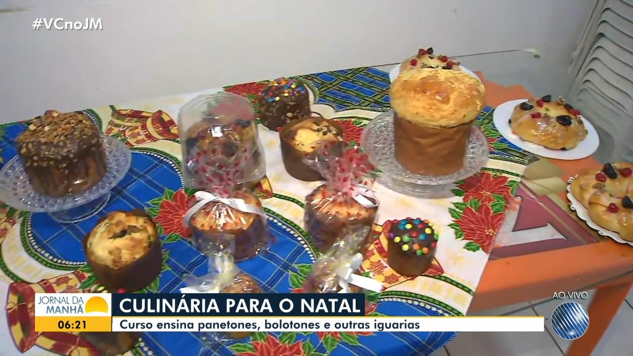 Oficina promove aulas de receitas natalinas para quem quiser vender comidas no fim do ano
