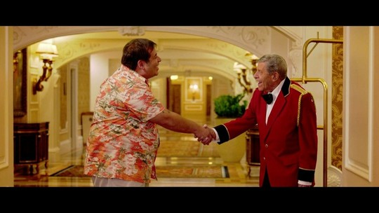 Jerry Lewis participou de filme com Leandro Hassum