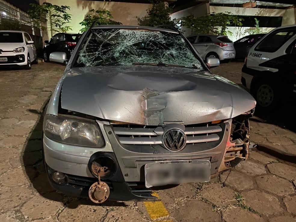 Policial morre após ser atropelado por motorista que furou fiscalização em rodovia de Promissão — Foto: J. Serafim/Divulgação