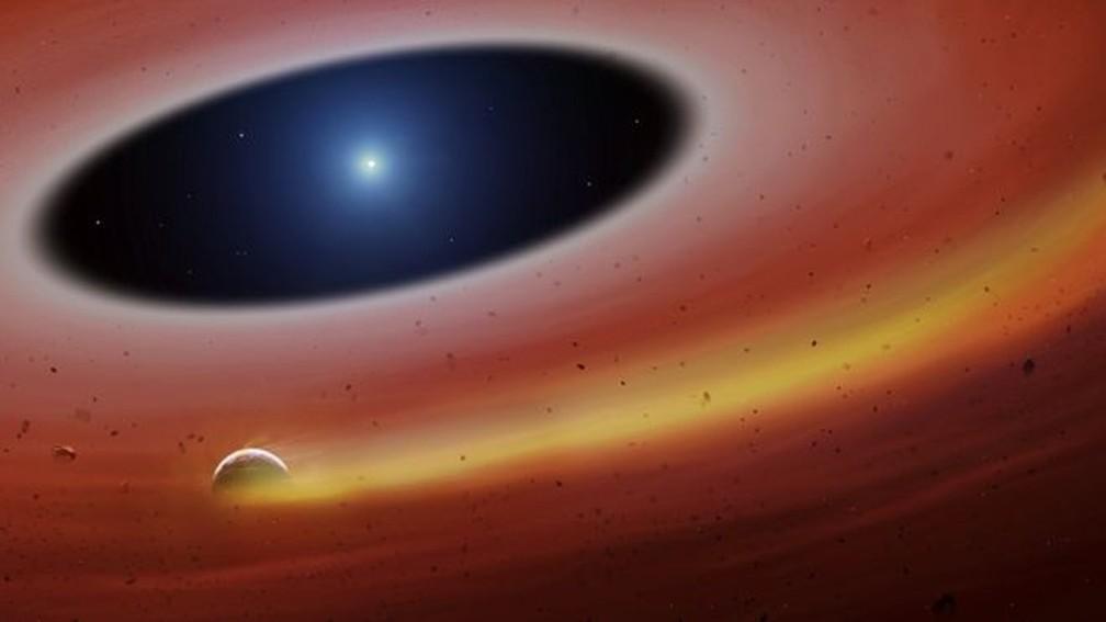 Descoberta dá pistas sobre o futuro do nosso planeta daqui a 6 bilhões de anos — Foto: UNIVERSITY OF WARWICK / MARK GARLICK