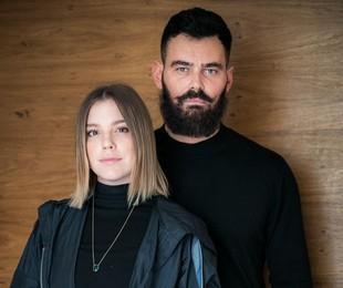 Alice Wegmann e Carmo Dalla Vecchia: Dalila e Paul em 'Órfãos da terra' | Raquel Cunha/TV Globo