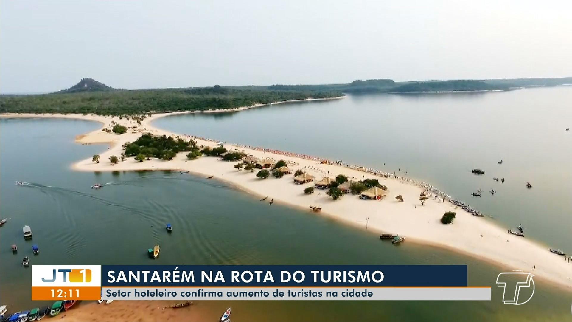 Maior procura por Santarém como destino turístico em 2019 anima operadores do turismo