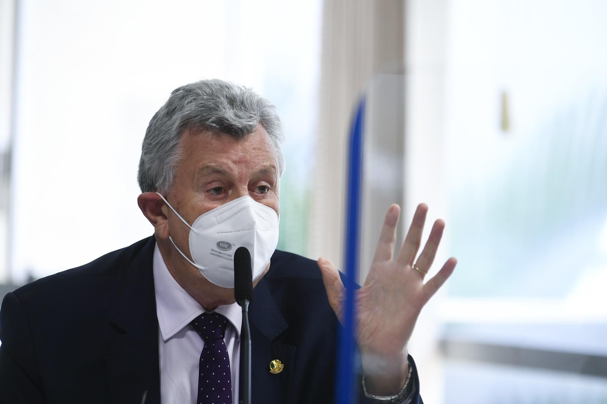 Heinze chama de 'absurdo' indiciamento em relatório da CPI da Covid
