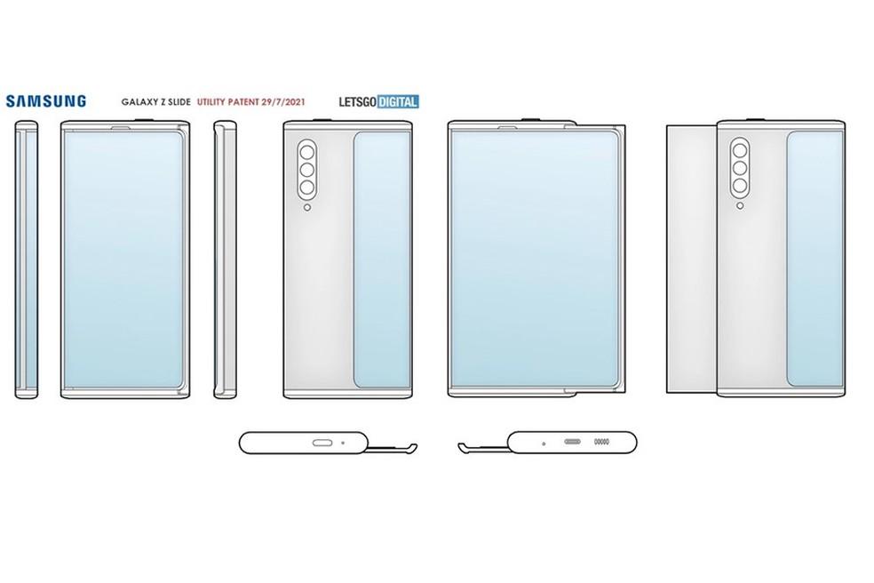 Registro da Samsung sugere um projeto em estágio avançado, fortalecendo a possibilidade de um lançamento comercial — Foto: Reprodução/Let's Go Digital