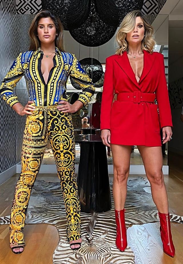Giulia Costa e Flavia Alessandra (Foto: Divulgação)
