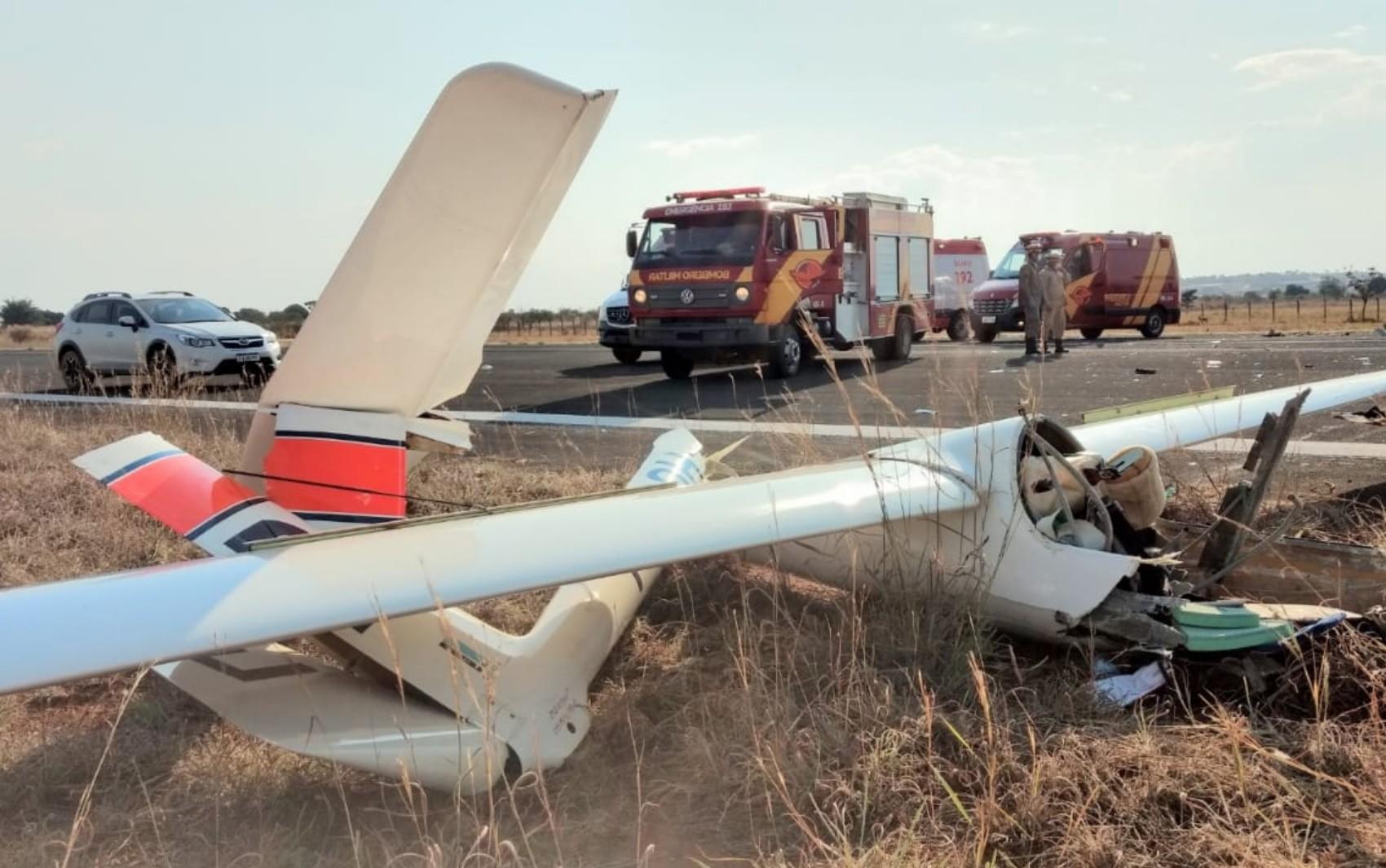 Idoso morre em queda de avião, em Formosa