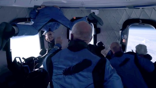 Foto: ( Blue Origin/Handout via REUTERS)