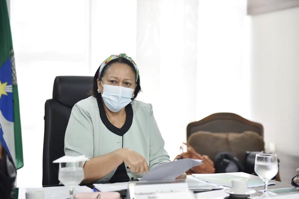 Fátima Bezerra, governadora do Rio Grande do Norte — Foto:  Elisa Elsie