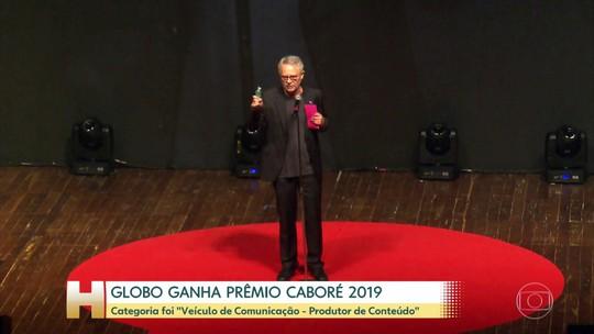 Globo vence Prêmio Caboré