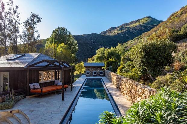 Mel Gibson reduz valor de mansão de 22 mil m² nas montanhas de Malibu (Foto: Divulgação)