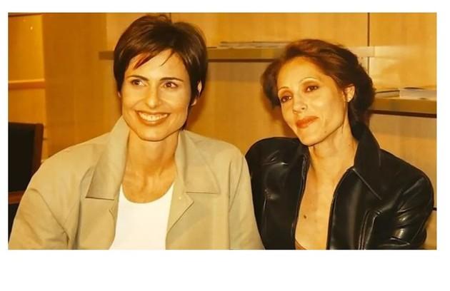 Leila (Silvia Pfeifer) e Rafaela (Christiane Torloni), de 'Torre de Babel' (Foto: Reprodução)