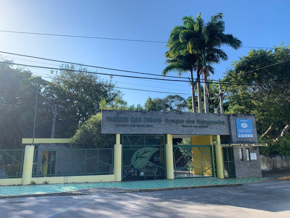 Parque das Dunas inicia segunda fase da reabertura gradual ao público — Foto: Anna Alyne Cunha/Inter TV Cabugi