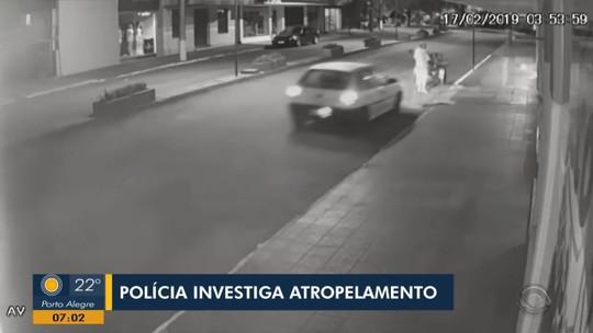 Suspeito de atropelar catador de lixo em Tenente Portela se apresenta à polícia