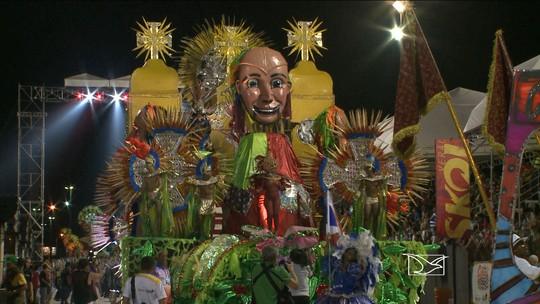 Diversidade das escolas de samba marca 3ª noite do Carnaval no MA