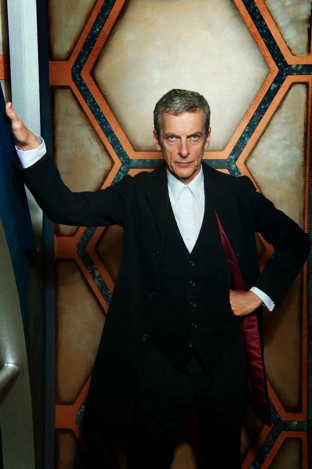 Peter Capaldi como o 12º Doutor (Foto: BBC/Divulgação)