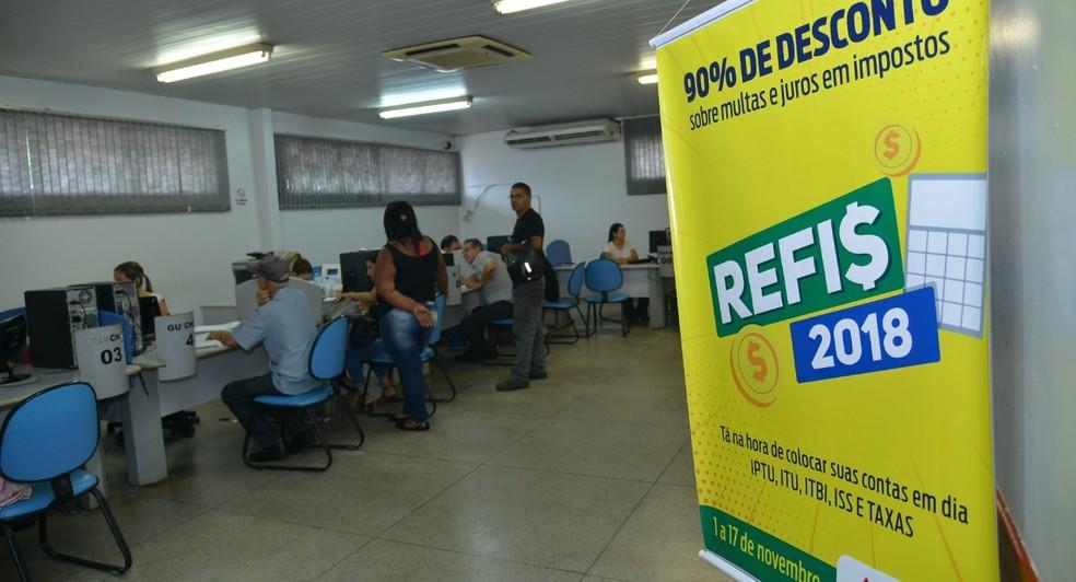 Refis 2018 oferece descontos de até 90% em multas e juros de impostos vencidos em Aparecida de Goiânia — Foto: Wigor Vieira/Prefeitura de Aparecida de Goiânia